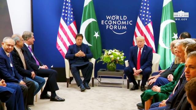 President Trump participates in a Bilateral Meeting with the Prime Minister of the Islamic Republic