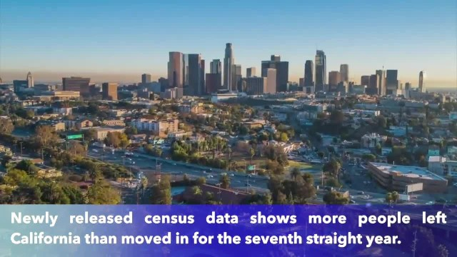 More people left California than moved in for 7th year in a row
