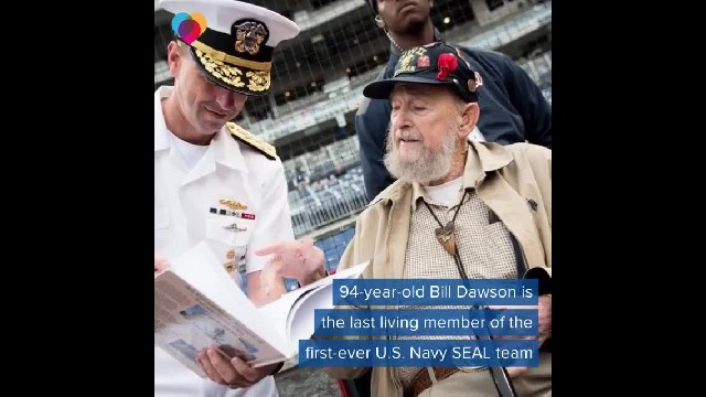 Last living member of original Navy Seal team turns 94, shares WWII stories only he can tell