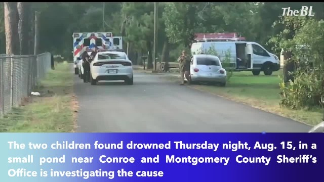 2 children drown in Montgomery County pond