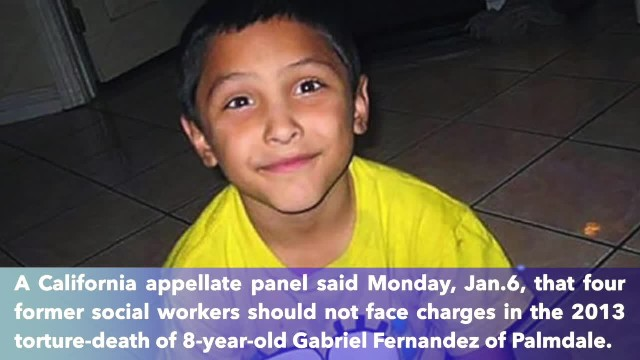 Appeals court throws out criminal charges against 4 social workers in Gabriel Fernandez' death