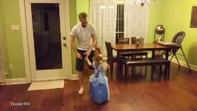 She Wanted To Dance With Daddy - They Gave A Performance Mom Will Never Forget