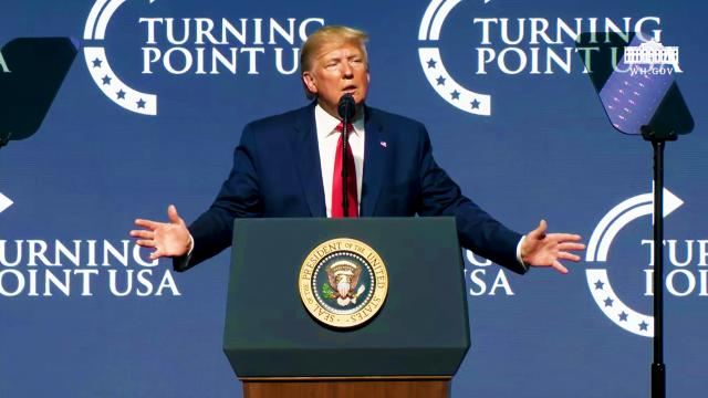 President Trump Delivers Remarks at Turning Point USA Student Action Summit