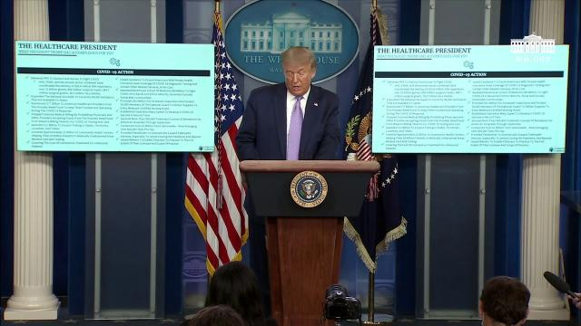 08/05/20 President Trump holds a news conference