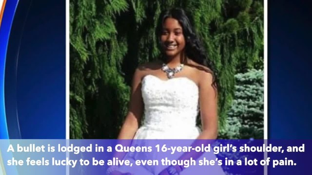 16-year-old girl shot in Queens says she 'had an angel guarding' her