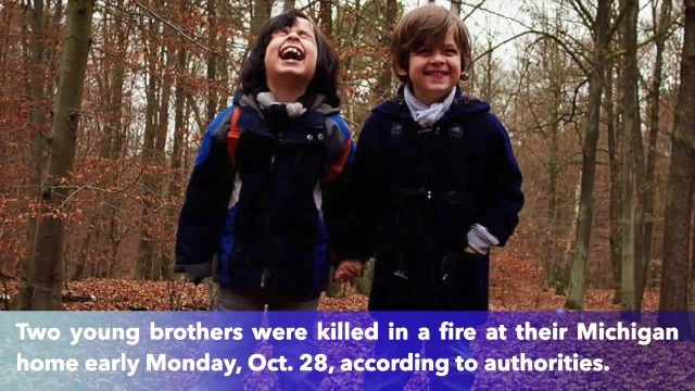 Young brothers killed in house fire in Michigan