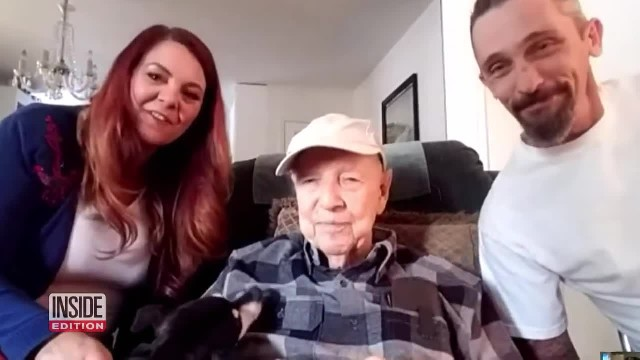 93-Yr-Old Veteran Sleeps In Car After Fleeing Wildfire, Then Couple Says 'You're Coming With Us'