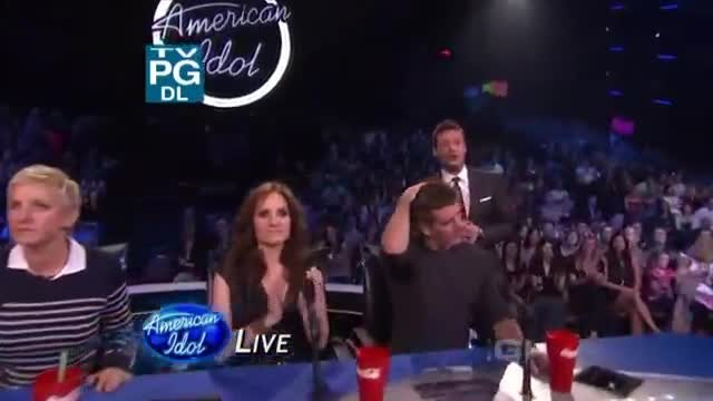 American Idol judge Simon Cowell challenges contestant to sing 'Hallelujah,' and he rocks it