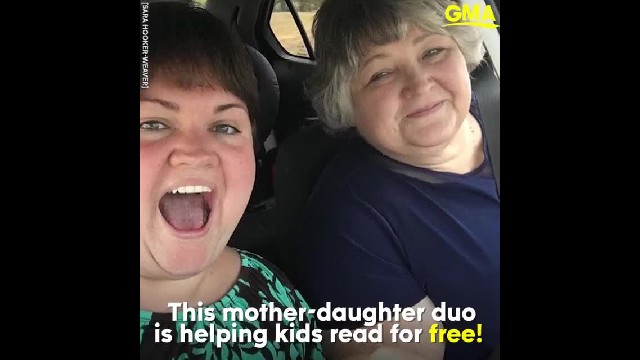 "Mother-daughter teacher duo donate over 16,000 books to students: ""We want to nurture that love of r"