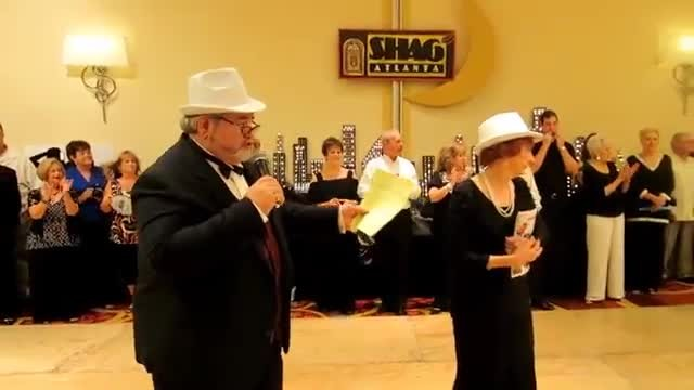 Older Couple Takes To The Dance Floor And Captivate Everyone With Carolina Shag