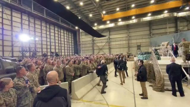 President Trump just surprised everyone and visited our troops in Afghanistan on Thanksgiving