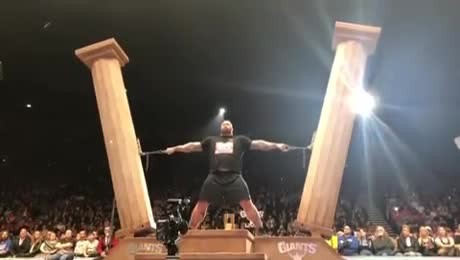 """The mountain"" wins europe's strongest man title for the 5th time"