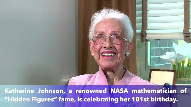Happy Birthday, Katherine Johnson! 'Hidden Figures' NASA mathematician celebrates her 101st