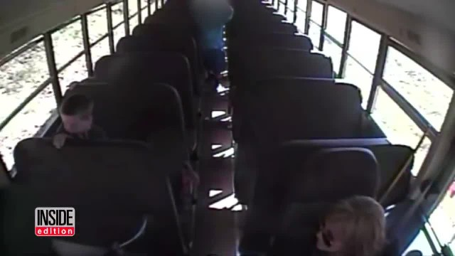 Bus Cam Captures Driver Grab Terrified Boy, Only For Children To Watch Helplessly As Time Runs Out