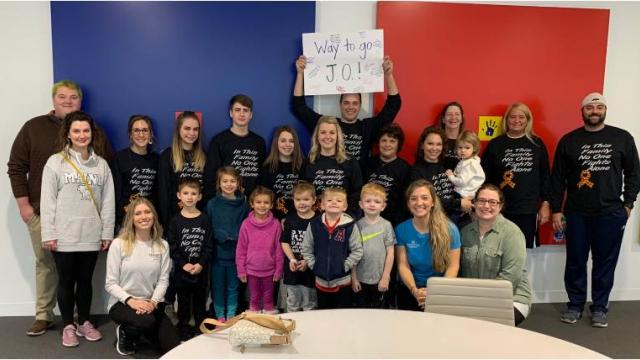 6-year-old Ohio boy beats leukemia, classmates celebrate his final chemo treatment