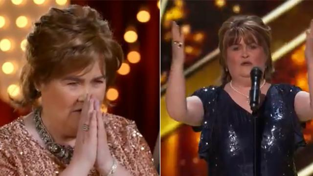 Susan Boyle returns to talent show after 9 years – just watch when she turns around and gives Simon
