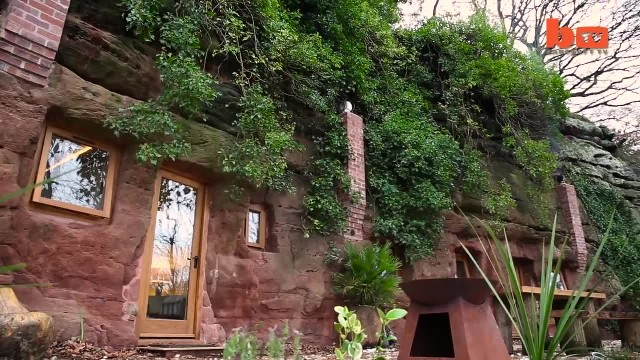 Man Put a Window on the Side of a Cave. When You Peek Inside its Jaw Dropping!