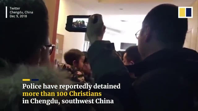 More than 100 Christians detained by Chinese police