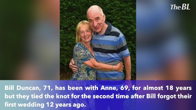 Scottish man 'marries' his wife after memory taken by dementia