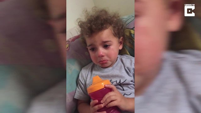 Adorable Toddler Cries Because Jesus Loves Her