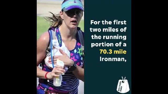 Air Force Mom Pumps Milk For Baby While Running Ironman & The Internet Is In Awe