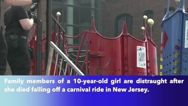10-year-old girl died after falling off carnival ride in New Jersey, police say