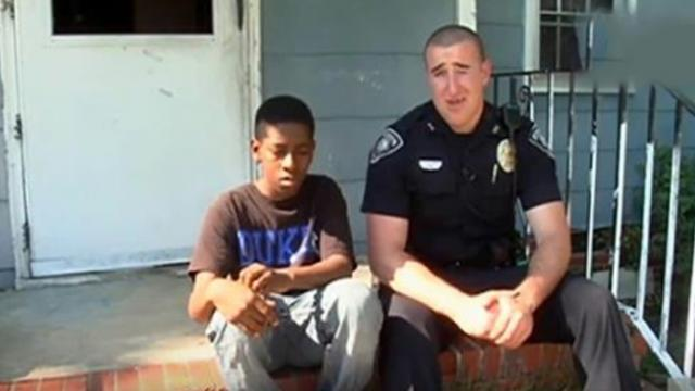 Thirteen-year-old boy says he wants to run away from home, then tells cop to look inside his empty r