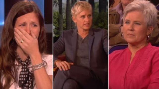 Deaf woman can hear again but mother-in-law has no clue Ellen knows truth about her actions