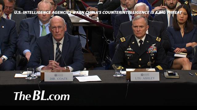 The BL news-U.S. intelligence agencies warn China's counterintelligence is a big threat