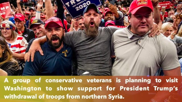 Conservative veterans plan to march in DC in November to defend President Trump Syria strategy