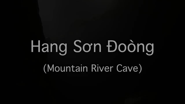Deep into Vietnam's forests there's an underground kingdom, the bigest cave in the world