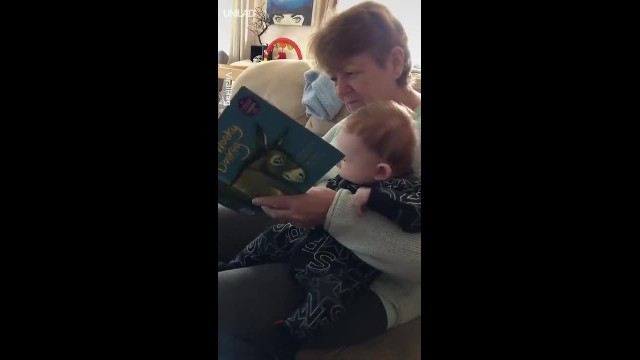 Scottish granny reads 'innocent' kids book to baby loses her mind & makes everyone laugh in process