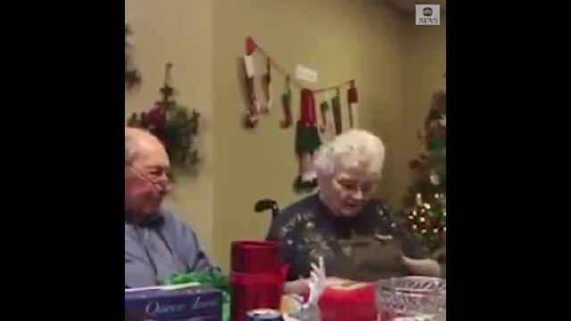 Man surprises wife for 67th wedding anniversary with new diamond ring after she loses hers