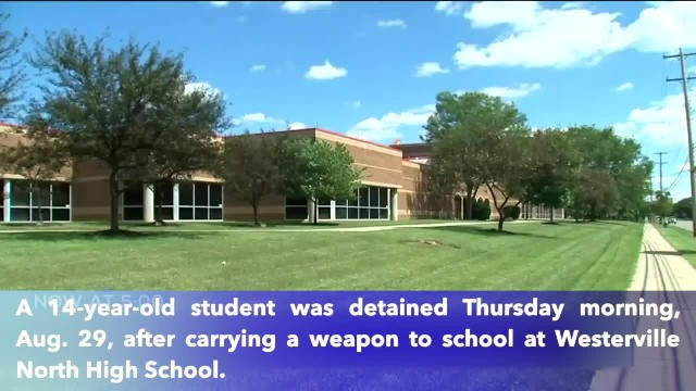 14-year-old student arrested after bringing a gun to Westerville North high school
