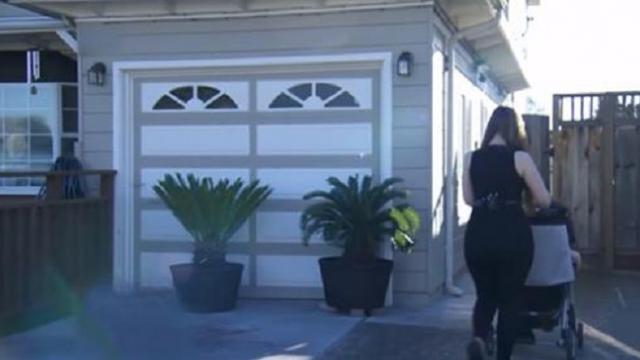 After she loses her job, pregnant mom moves into one-car garage with her 18-month-old daughter