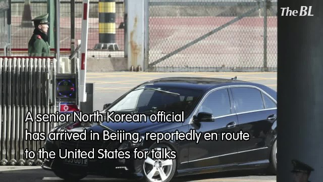 North Korean official reportedly heading to US for talks