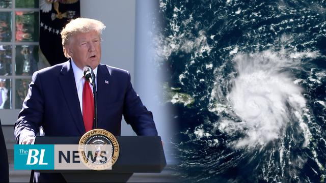 Trump speaks about Hurricane Dorian, cancels Poland trip