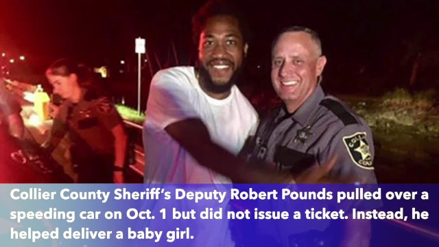 It's a girl! Florida deputy delivers baby after pulling over speeding car