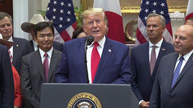President Trump Signs the U.S. - Japan Trade Agreement & U.S. - Japan Digital Trade Agreement