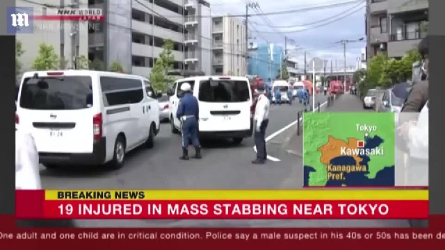 Mass stabbing in Japan leaves people dead while waiting for the bus