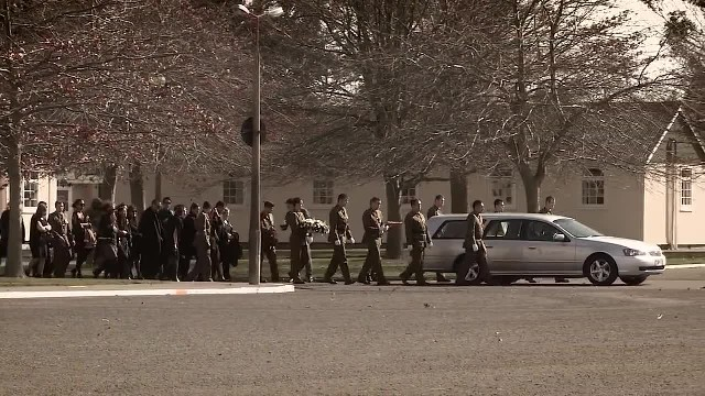 2nd 1st Farewell Their Fallen Comrades With A Huge Haka