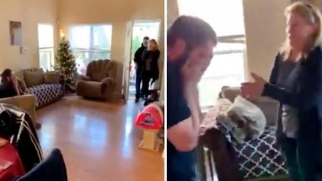 "38-yr-old comes face to face with birth parents for 1st time when mom shouts ""I'm so sorry"""