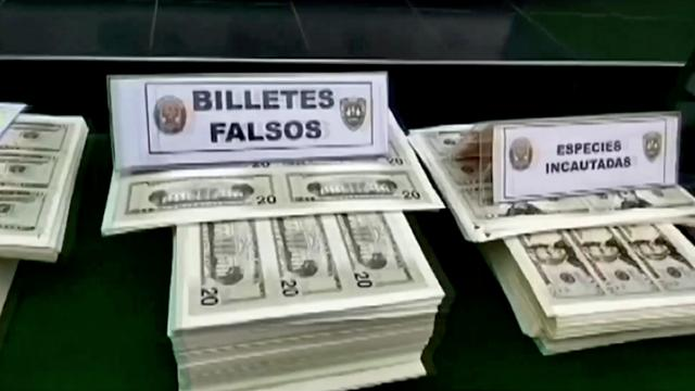 Peru police seize nearly $6mln in counterfeit currency