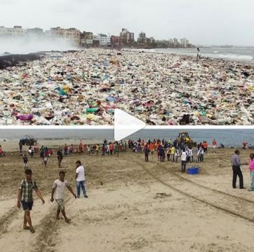People are cleaning up the planet in viral #Trashtag challenge
