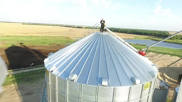 You won't believe how beautiful 'Down to the River to Pray' sounds when sung in a grain silo