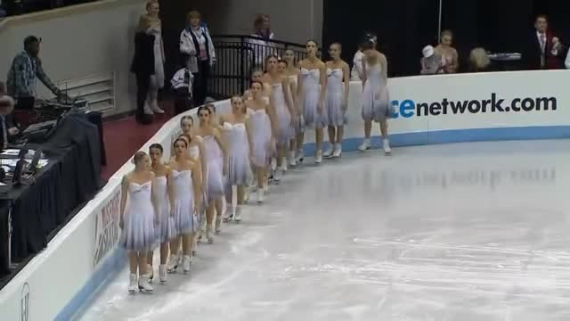 16 Skaters Take The Ice To Perform Haunting Routine That Leaves Audience Speechless