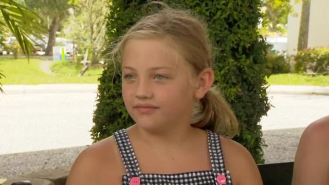 9-year-old girl bitten by shark while on vacation in Florida
