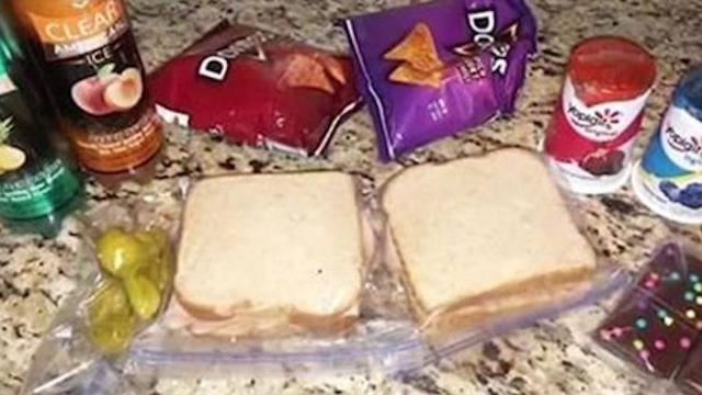 Son keeps asking for 2 packed lunches, only for mom to learn he's been giving meals to starving boy