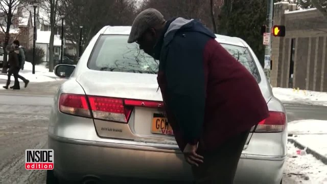 Total Stranger Approaches Driver and Grabs him from Behind, when Realizes He is Choking