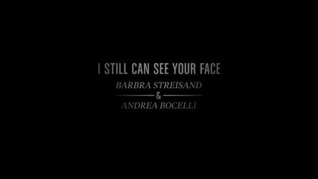 Two World Legends Barbra Streisand And Andrea Bocelli Perform Together 'I Still Can See Your Face'